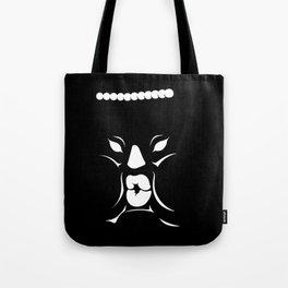 Inky Junior face Tote Bag