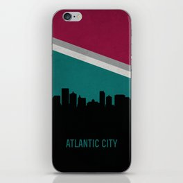 Atlantic City Skyline iPhone Skin