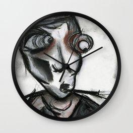 The Curious Smoking Man Wall Clock
