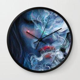 Blissful Blue Wall Clock