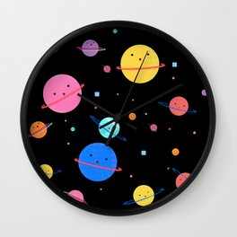 Hula Universe Wall Clock