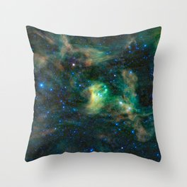 674. Dusty Reflections in the Scorpion Claws Throw Pillow