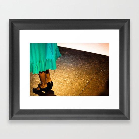 flamenco#2 Framed Art Print