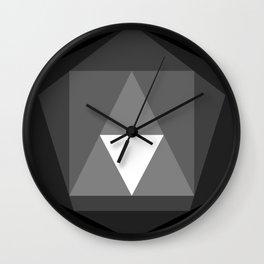 IsoFall Onyx Wall Clock