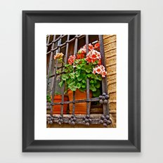 Caged Framed Art Print