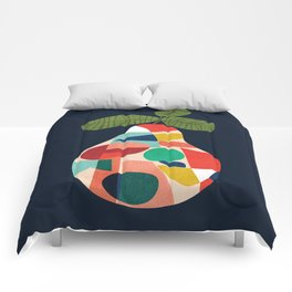 Fresh Pear Comforters