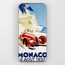 Monaco 1937 Grand Prix iPhone Skin