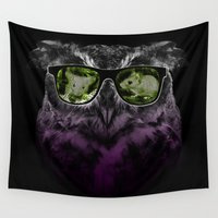 hunting Wall Tapestries featuring  ###hunting time  by jun salazar