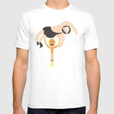 Its Still Real To Me. MEDIUM Mens Fitted Tee White