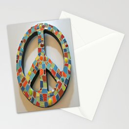 Fiesta Peace Sign Stationery Cards