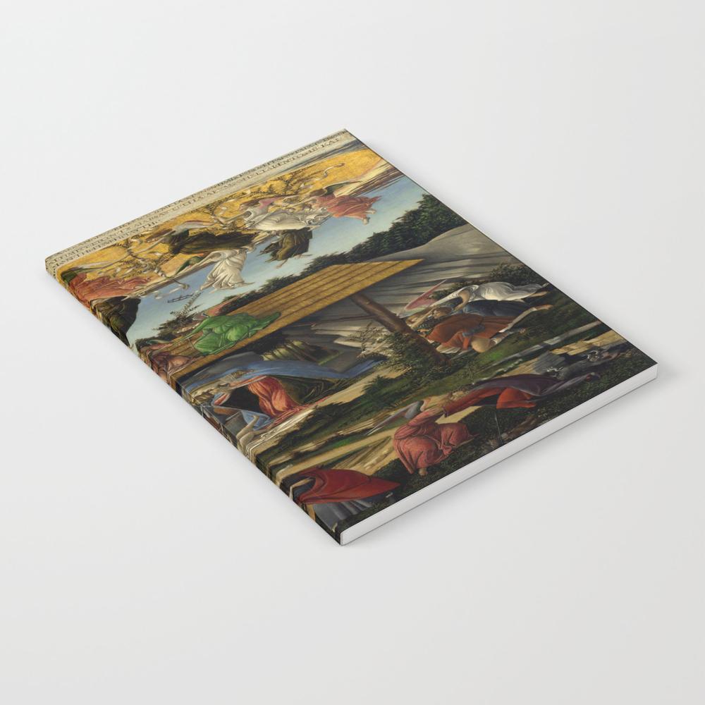"Sandro Botticelli """"the Mystical Nativity"""" Notebook by Alexandra_arts"" NBK8820907"