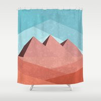egypt Shower Curtains featuring Egypt by Illusorium
