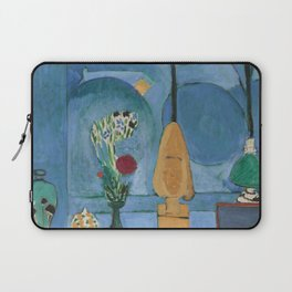The Blue Window, Issy-les-Moulineaux, 1913 by Henri Matisse, Artwork Design, Poster Tshirt, Tee, Jer Laptop Sleeve