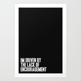 Driven Art Print