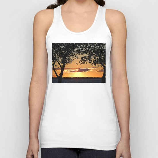 Sunset on Summerside Unisex Tank Top