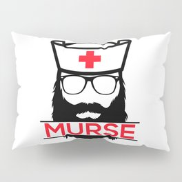 Murse Male Nurse Hospital Health Care Pillow Sham