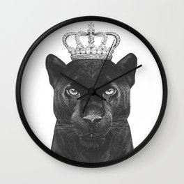 The King Panther Wall Clock