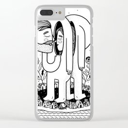 Coincidences Clear iPhone Case