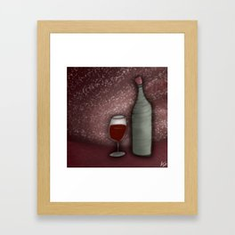 The Crooked Cork Framed Art Print