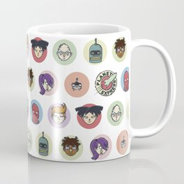 Planet Express Crew Coffee Mug