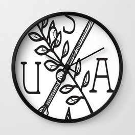 Peace and Unity Wall Clock