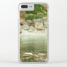 marine collection. Greece. Kefalonia Clear iPhone Case