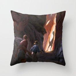 Exploring Utah Throw Pillow