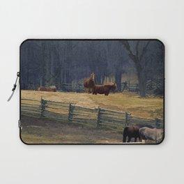 Wilderness Horse Ranch Laptop Sleeve