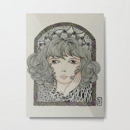 Choir Girl Metal Print