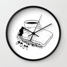 Breakfast Included Wall Clock