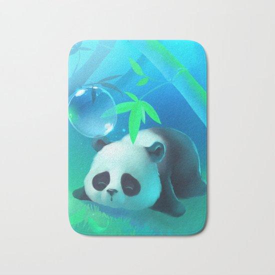 Bamboo Panda Bath Mat