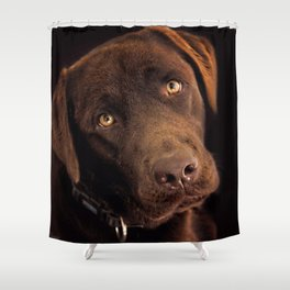 Benji Shower Curtain
