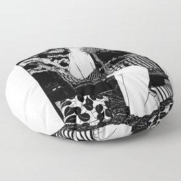 asc 495 - Le sacre du printemps (The spring cut) Floor Pillow