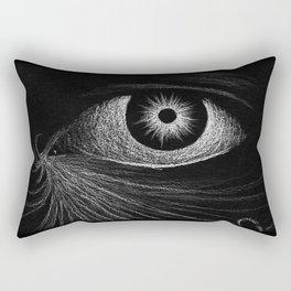 """The Eye of Two Suns."" Rectangular Pillow"