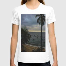 Dreamy Mexican Beach Sunset T-shirt