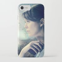 greys anatomy iPhone & iPod Cases featuring GREY'S ANATOMY - MEREDITH GREY by everybreatheverymove