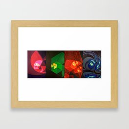 Elementals (series) Framed Art Print