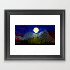 Gaia and Luna Framed Art Print