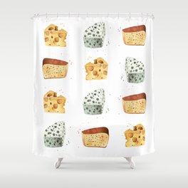 Cheese! Shower Curtain
