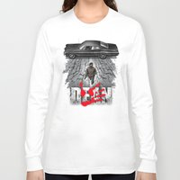 dean winchester Long Sleeve T-shirts featuring Dean by Six Eyed Monster