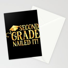 Second Grade Nailed it Stationery Cards