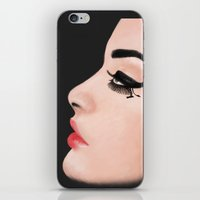 model iPhone & iPod Skins featuring Model by disbag