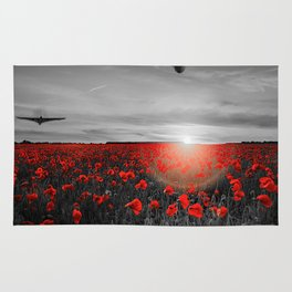 Poppy Vulcan's Isolated Rug