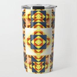 Navajo Cubes Travel Mug