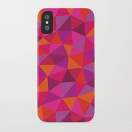 Prismatic Pattern iPhone Case