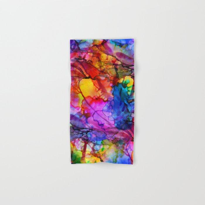 Colour Chaos Hand & Bath Towel