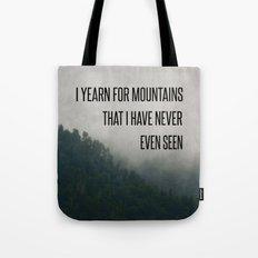 Mountain Yearning  Tote Bag