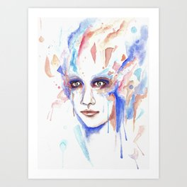 The jest Art Print