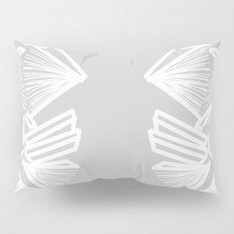 Bookworm - Cool Grey Pillow Sham