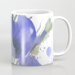 Bluest Blue Bloom Coffee Mug
